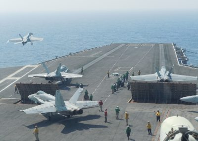 CVN and LHD Aircraft Carrier Noise Assessment